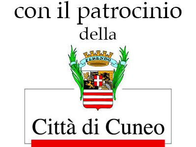 Con il patrocinio della Città di Cuneo