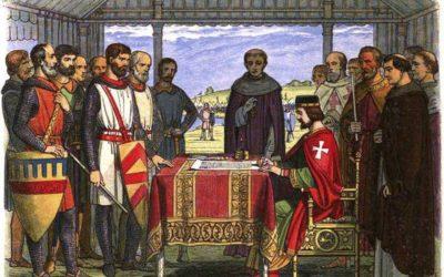 Un Re senza terra e la prima Costituzione della storia