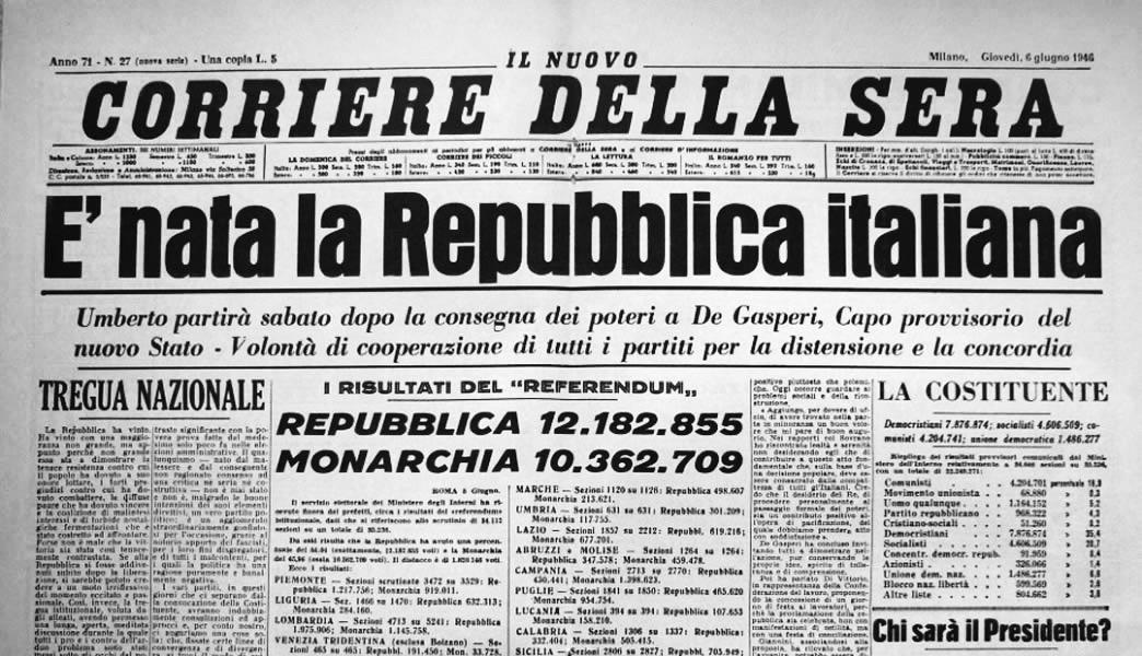 IL GIORNALISMO ITALIANO: STORIA IN PILLOLE
