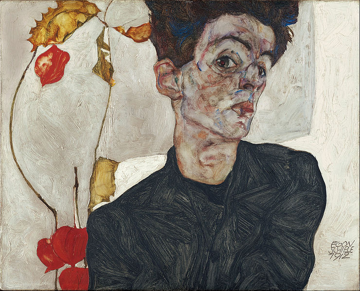 Egon Schiele: autoritratto dell'anima