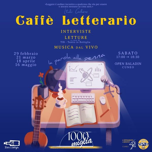 """Caffè Letterario 2020 """"La parola alla penna"""" terza edizione"""