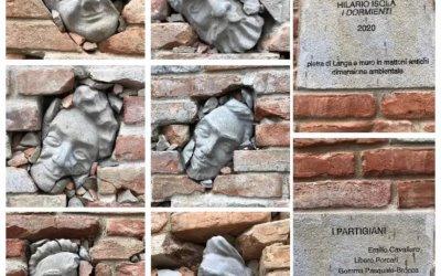 """L'arte che trasforma: Il muro de """"I dormienti"""" di Guarene"""