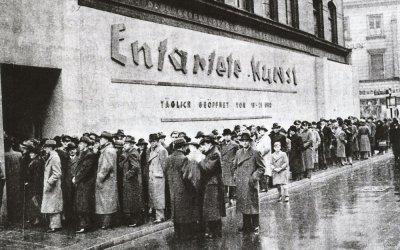 "MONACO 1937. Una mostra d'arte ""degenerata"""